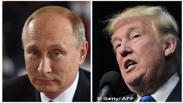 A treia convorbire telefonica dintre Donald Trump si Vladimir Putin. Ce au discutat cei doi si la ce au cazut de acord