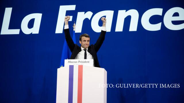 Alegeri prezidentiale in Franta. REZULTATE DEFINITIVE: Macron are 2 procente peste Le Pen si cele mai mari sanse in turul II