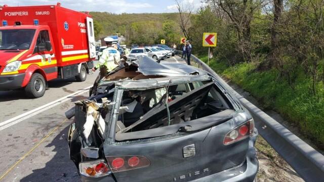 O familie intreaga a murit in accidentul din judetul Olt. Noul bilant: 5 decedati si un ranit. Cum s-a produs tragedia - Imaginea 2