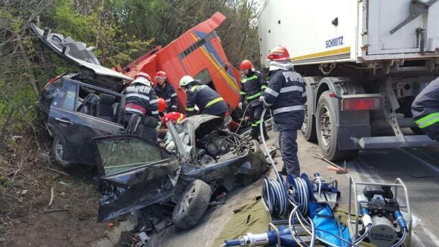 O familie intreaga a murit in accidentul din judetul Olt. Noul bilant: 5 decedati si un ranit. Cum s-a produs tragedia - Imaginea 3