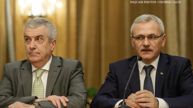 Reactiile lui Dragnea si Tariceanu, dupa succesul lui Iohannis de la Casa Alba: \