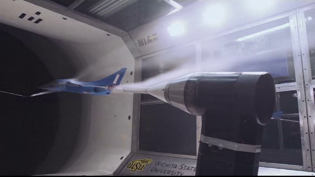Cum arata prototipul primului avion supersonic de pasageri. Viteza sa ar putea depasi 2.300 km/h