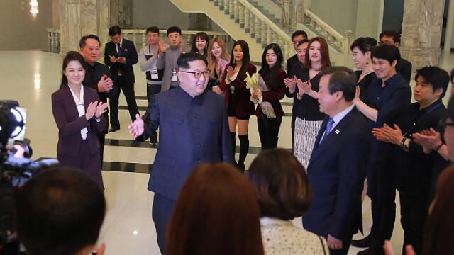 Kim Jong-un, concert - 4