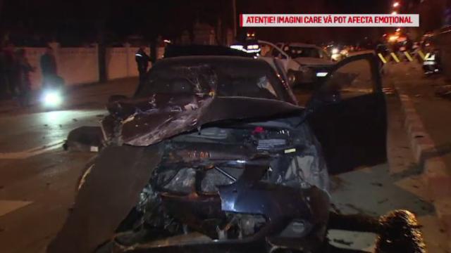 Accident grav provocat de un șofer fără permis la poarta cimitirului. O femeie a murit pe loc