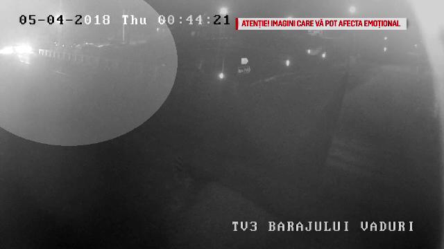 Accidentul cu nouă morți din Neamț, filmat de o cameră de supraveghere