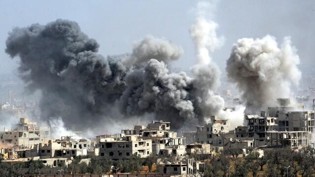 """Oficial sirian: """"Țintele atacate de SUA fuseseră evacuate acum câteva zile, la recomandarea Rusiei"""""""