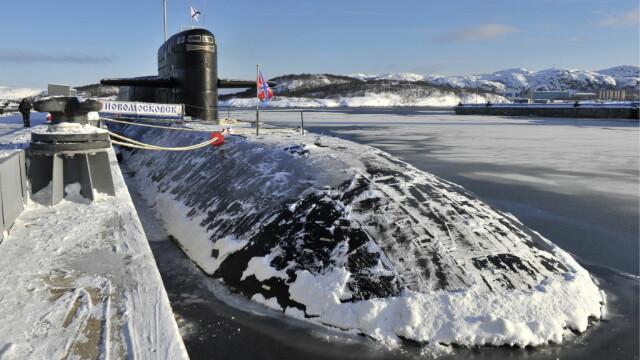 submarina rusesc la Murmansk
