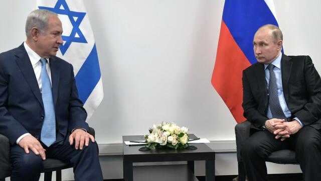 Benjamin Netanyahu, Vladimir Putin
