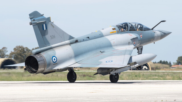 Un avion de luptă al Greciei s-a prăbușit după ce a interceptat unul turc