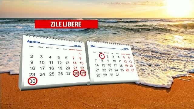 calendar minivacanta 1 mai