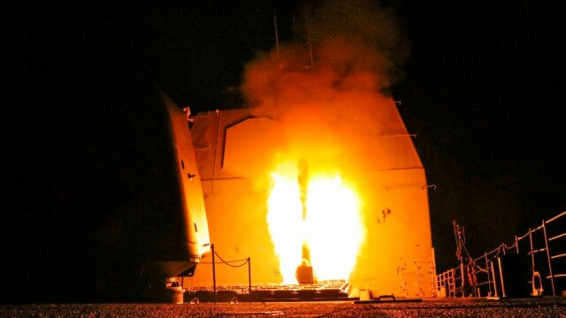 SUA, Franța și Marea Britanie au atacat obiective militare din Siria