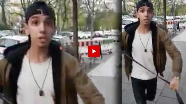 Autorul atacului antisemit care a șocat Germania. VIDEO