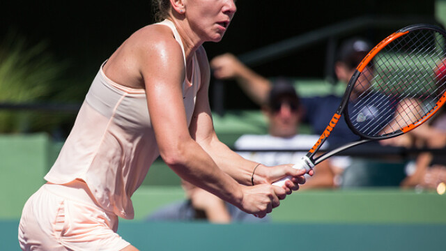 Simona Halep a ratat calificarea în semifinalele turneului de la Stuttgart. Românca, învinsă de Coco Vandeweghe