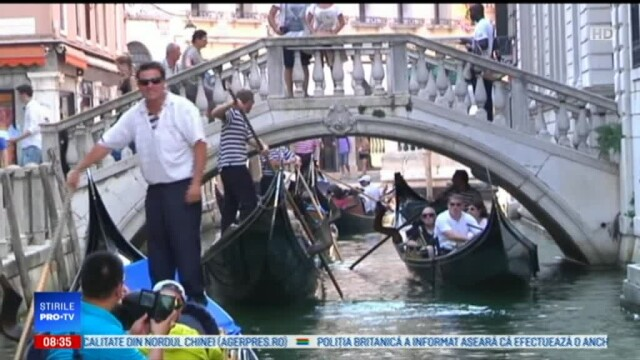 Măsuri extraordinare la Veneția. Turiștii vor fi redirecționați de 1 Mai