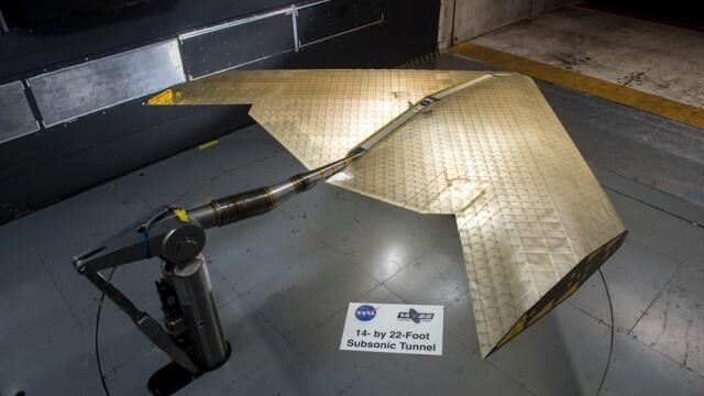 Avionul viitorului. NASA a creat aripi ultra-flexibile care își pot schimba forma în zbor - Imaginea 1