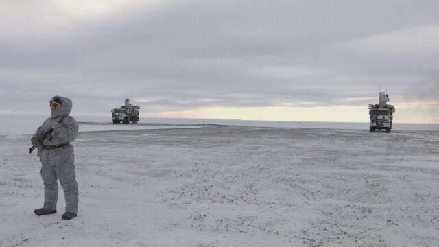 Cum arată baza militară construită de Putin în inima regiunii Arctice. GALERIE FOTO - Imaginea 1