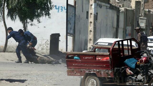 Explozii puternice în Afganistan. Sunt mai mulți morţi şi răniţi. GALERIE FOTO - Imaginea 1