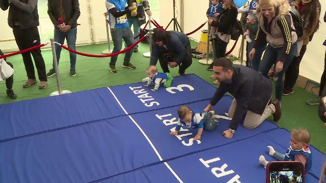 Competiție între 50 de bebeluși