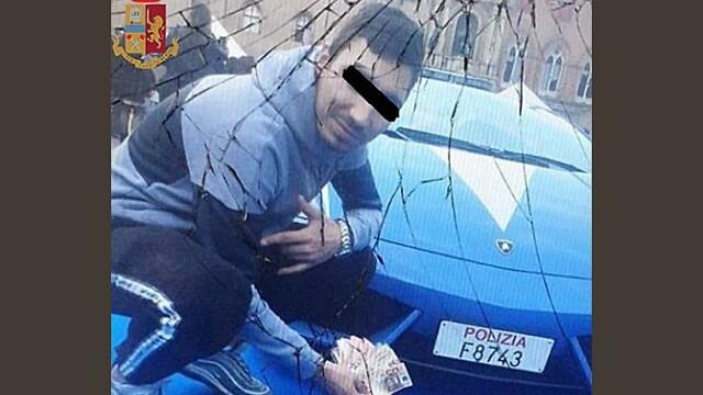 român arestat în Italia