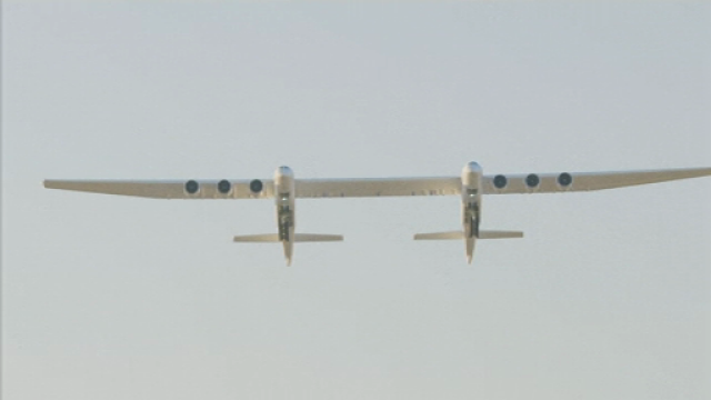 avion, Stratolaunch, cel mai mare avion, a zburat, test,