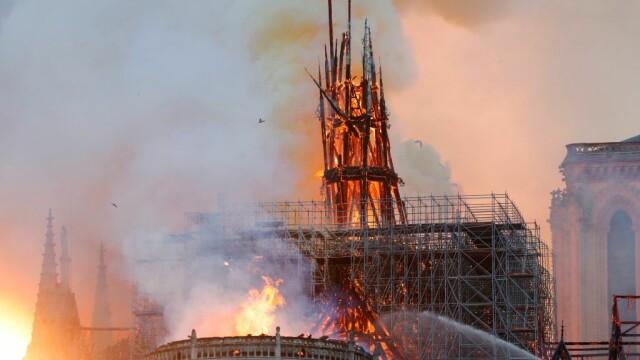 Incendiul de la Notre Dame. Emmanuel Macron promite reconstruirea catedralei în 5 ani - Imaginea 12