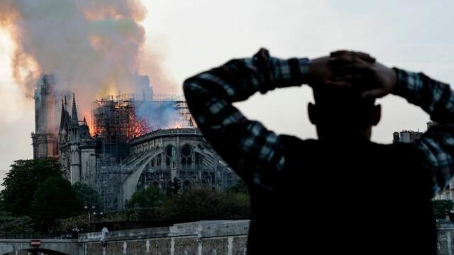 Incendiul de la Notre Dame. Emmanuel Macron promite reconstruirea catedralei în 5 ani - Imaginea 10