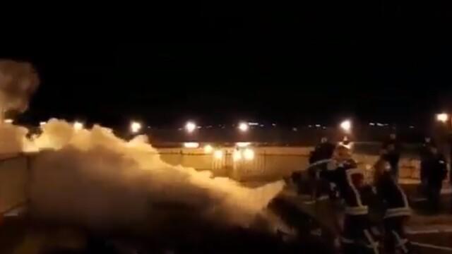 Incendiu pe Esplanada Moscheilor din Ierusalim