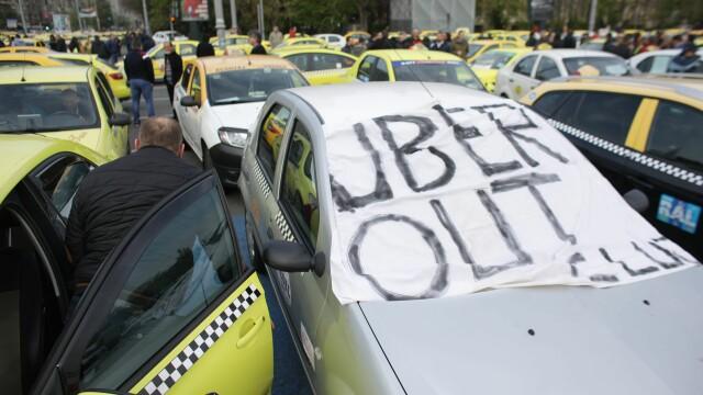 Taximetrist, atacat cu ouă de colegii săi, pentru că nu participă la protest - Imaginea 4