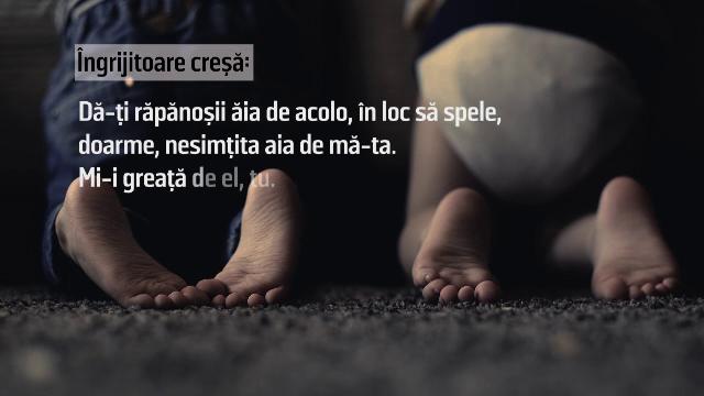 Singurele cuvinte spuse mamei de copilul abuzat la o creșă din Iași. Ce a urmat - Imaginea 1