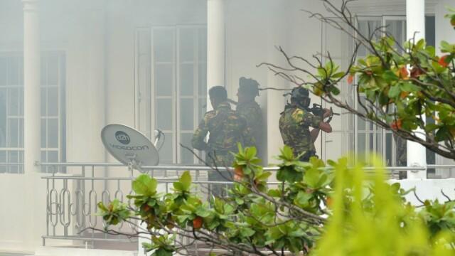 Operatiune a politiei din Sri Lanka pentru prinderea autorilor atacurilor