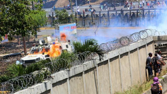 Colonel venezuelean, susținător al lui Maduro, împușcat în gât. Anunțul președintelui - Imaginea 10