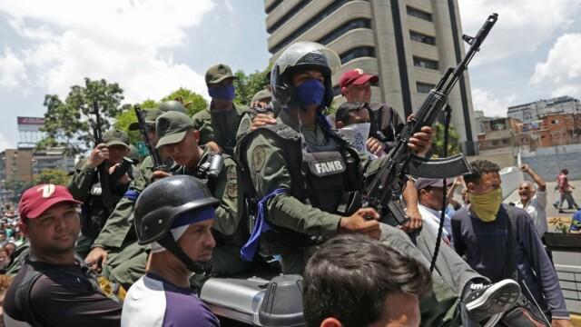 Colonel venezuelean, susținător al lui Maduro, împușcat în gât. Anunțul președintelui - Imaginea 9
