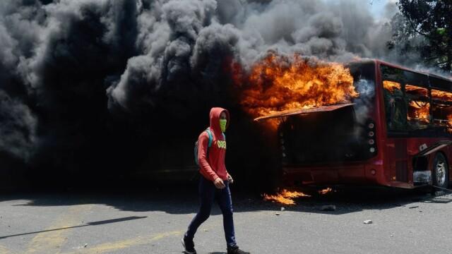 Colonel venezuelean, susținător al lui Maduro, împușcat în gât. Anunțul președintelui - Imaginea 3