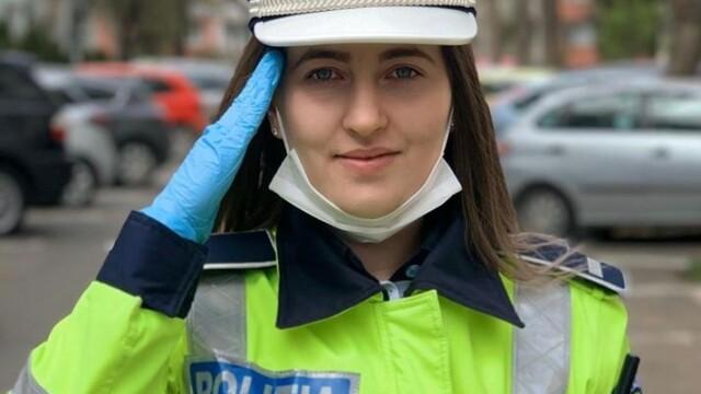 Reacția unei polițiste după ce a aflat că șoferul pe care l-a oprit în trafic este medic