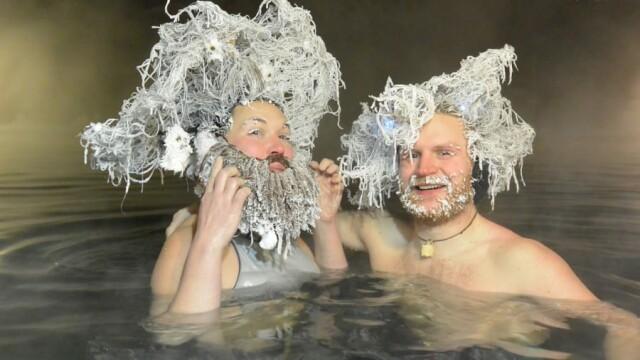 Concurs de păr îngheţat. Cel mai distractiv concurs serios - Imaginea 1