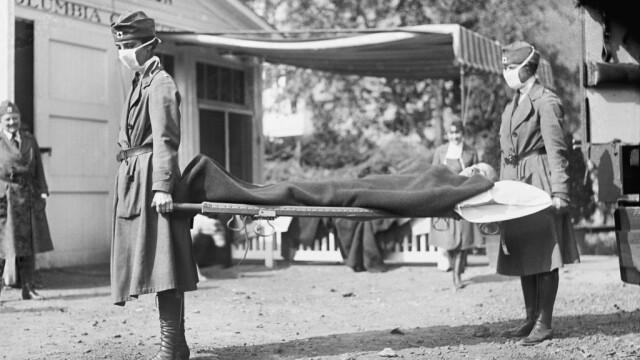 Imagini istorice. Cum arăta lumea în timpul pandemiei de gripă spaniolă din 1918 - Imaginea 1