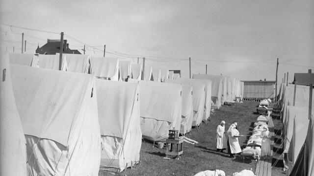Imagini istorice. Cum arăta lumea în timpul pandemiei de gripă spaniolă din 1918 - Imaginea 2