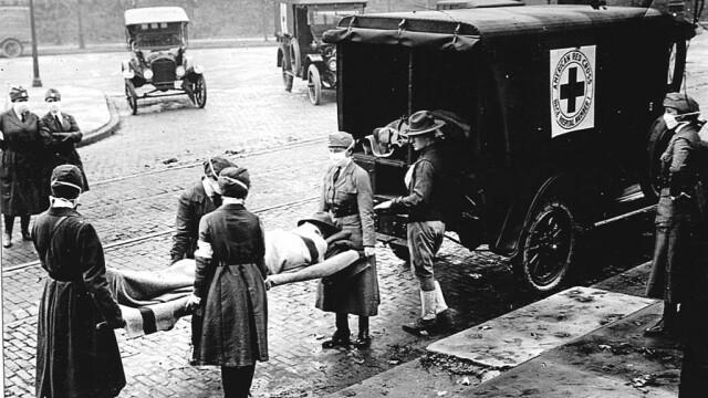 Imagini istorice. Cum arăta lumea în timpul pandemiei de gripă spaniolă din 1918 - Imaginea 5