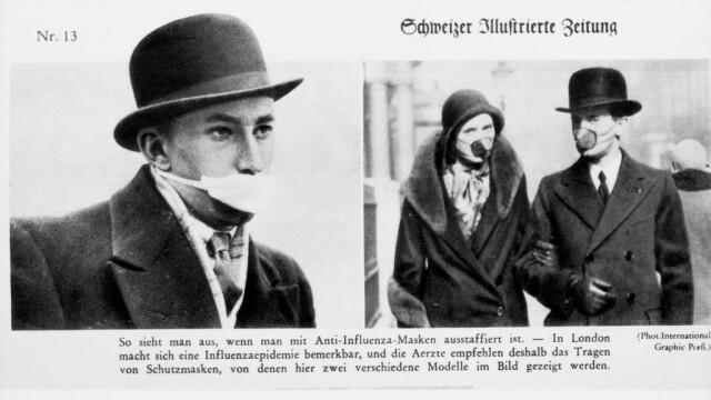 Imagini istorice. Cum arăta lumea în timpul pandemiei de gripă spaniolă din 1918 - Imaginea 6