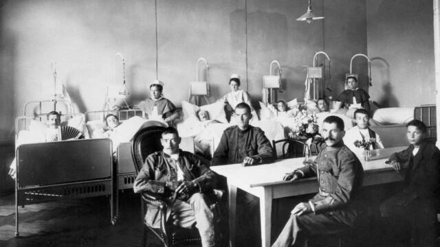 Imagini istorice. Cum arăta lumea în timpul pandemiei de gripă spaniolă din 1918 - Imaginea 7