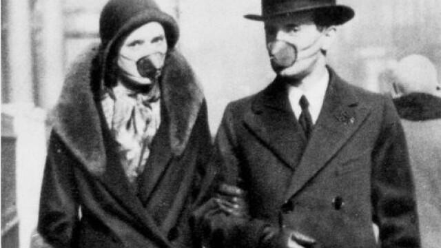 Imagini istorice. Cum arăta lumea în timpul pandemiei de gripă spaniolă din 1918 - Imaginea 8