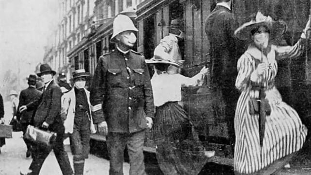 Imagini istorice. Cum arăta lumea în timpul pandemiei de gripă spaniolă din 1918 - Imaginea 11
