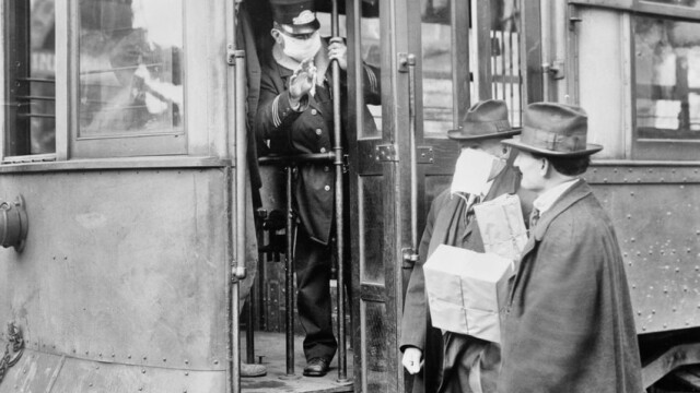 Imagini istorice. Cum arăta lumea în timpul pandemiei de gripă spaniolă din 1918 - Imaginea 12