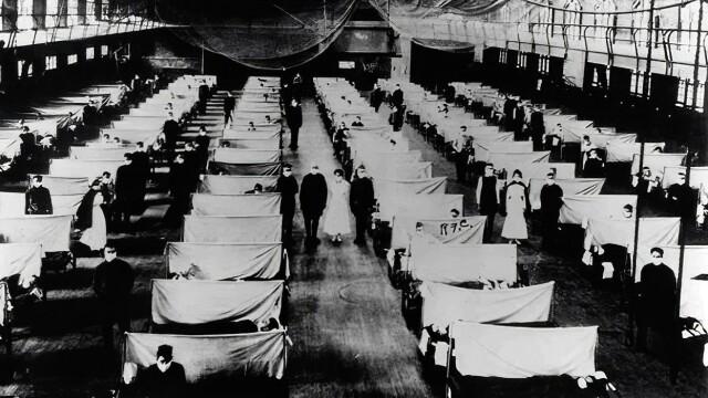 Imagini istorice. Cum arăta lumea în timpul pandemiei de gripă spaniolă din 1918 - Imaginea 13