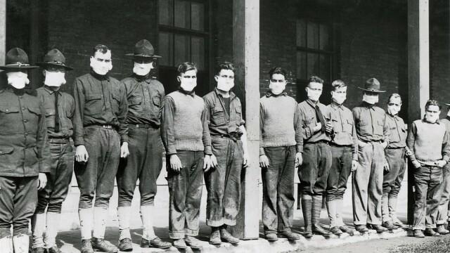 Imagini istorice. Cum arăta lumea în timpul pandemiei de gripă spaniolă din 1918 - Imaginea 18