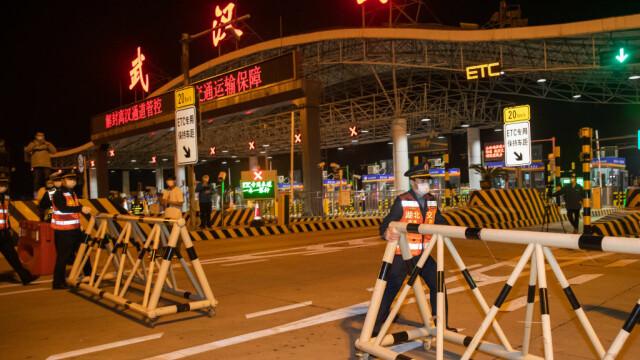 FOTO&VIDEO Primele imagini din Wuhan după ridicarea carantinei - Imaginea 1