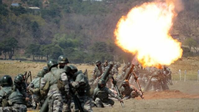 Kim Jong Un a supervizat un exerciţiu militar. Anunțul agenției de presă nord-coreene - Imaginea 4