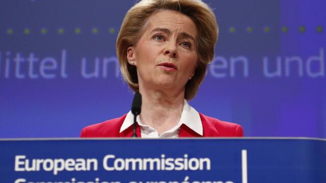 Ursula von der Leyen: UE datorează scuze Italiei pentru reacţia tardivă faţă de epidemie