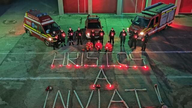 Mesajul ambulanțierilor cu ocazia Paștelui