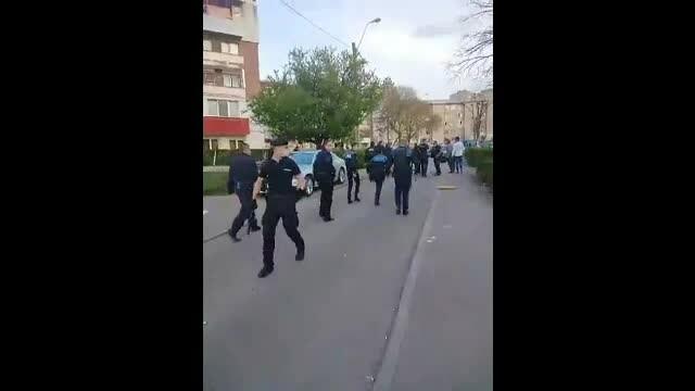 politisti batuti hunedoara